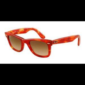 Ray-Ban Original Wayfarer Red Tie dye Sunglasses